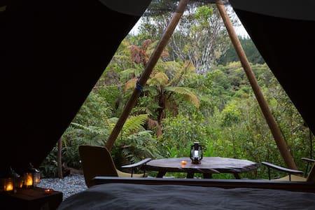 Kaniere Tailings Luxury Camping near Hokitika