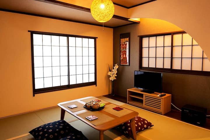Authentic Japan-style flat/For Family/Near Haneda