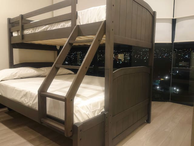 Bunk bed with Double and Single beds