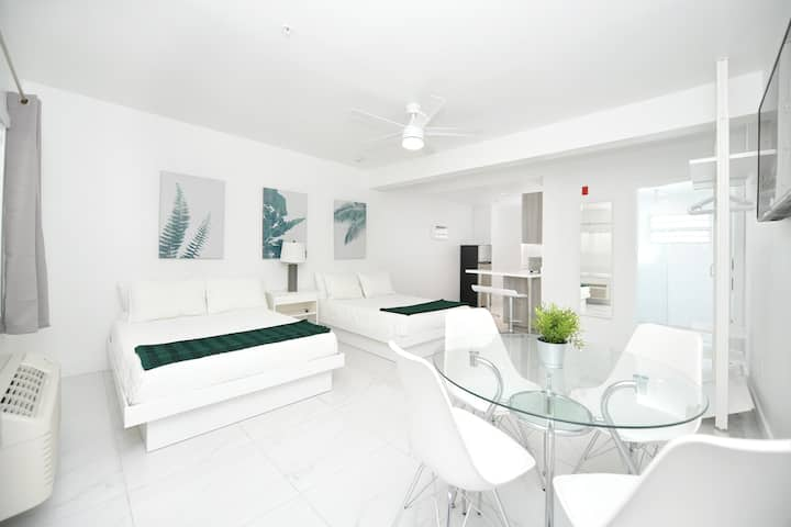 Airy Modern Apartment Across From the Beach