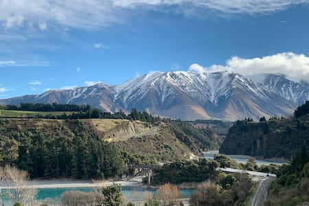 Mt Hutt Chalet with stunning views