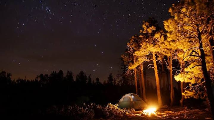 Experience enjoy  the outdoors campfire ,cycling .