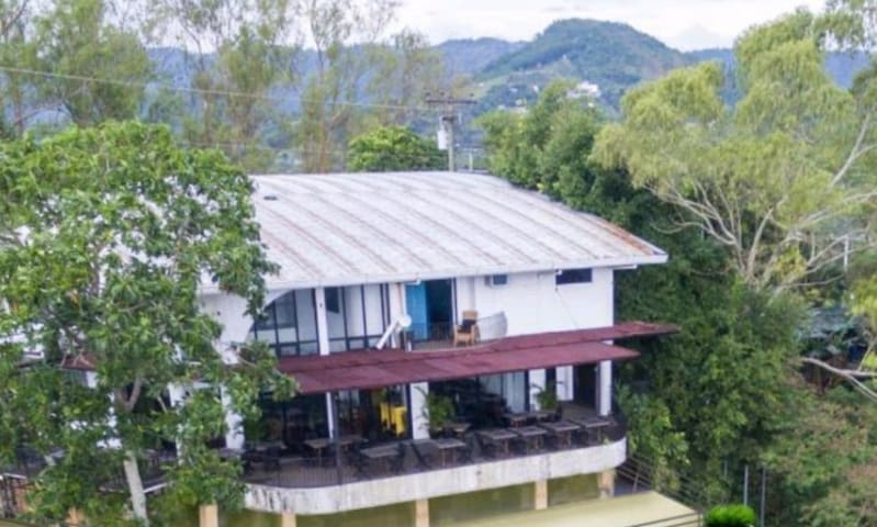 Busay city view near Tops private balcony spacious