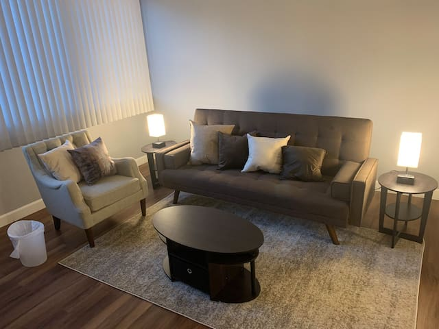 Beautiful modern apartment in downtown Cleveland!