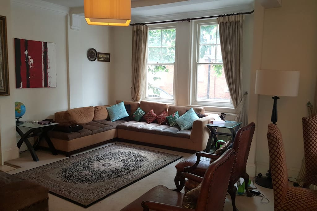 Living room - large sectional sofa