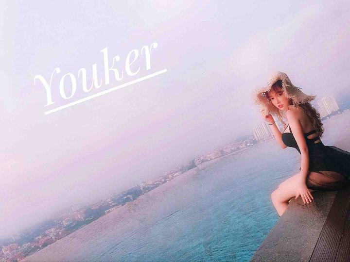 Youker#Pattaya posh精装酒店式公寓,无边泳池,购物及交通便利