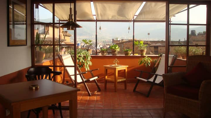 Sun 2 at Milla Guesthouse Bhaktapur
