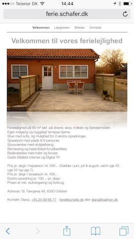 Feriebolig med egen indgang - Gråsten - Dům