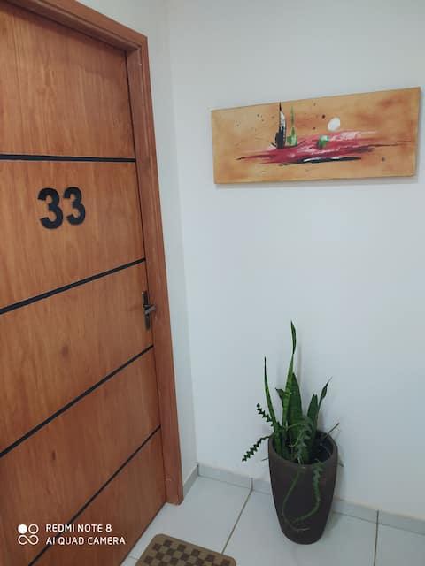 Apartamento cómodo, seguro a pasos de todo