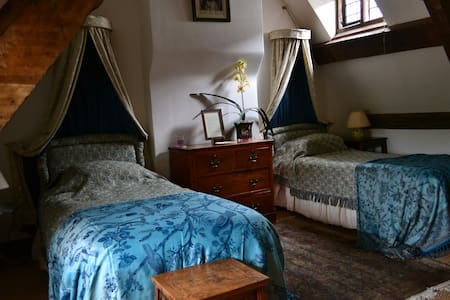 The Blue Room steeped in Medieval atmosphere - Devon