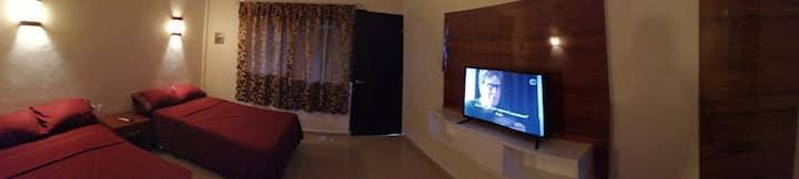 Habitación Privada para 4 personas en Bacalar