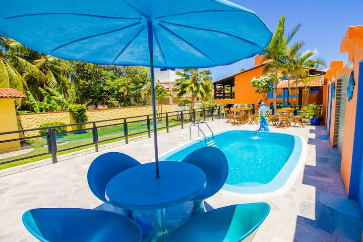 ♦ Beach House with Pool in Jacumã