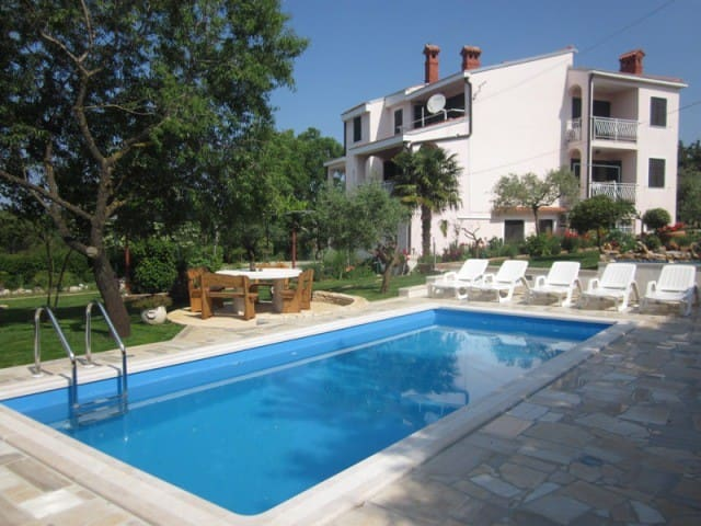 Appartement avec piscine Istrie