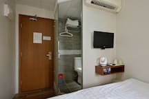 B6-Standard DoubleBed Room with public balcony