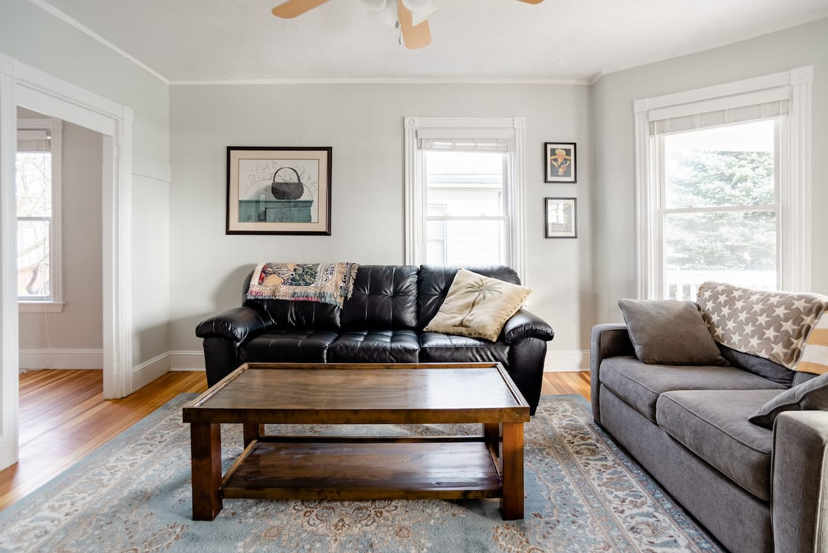 Stunning Two Bedroom Airbnb on Portland's Back Bay