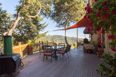 Private and Peaceful with views - Scotts Valley - Casa