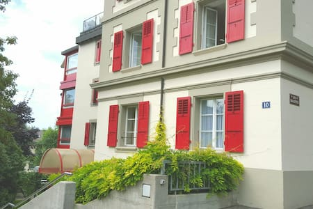Apartment+parking, quiet, transport to city center - Pully