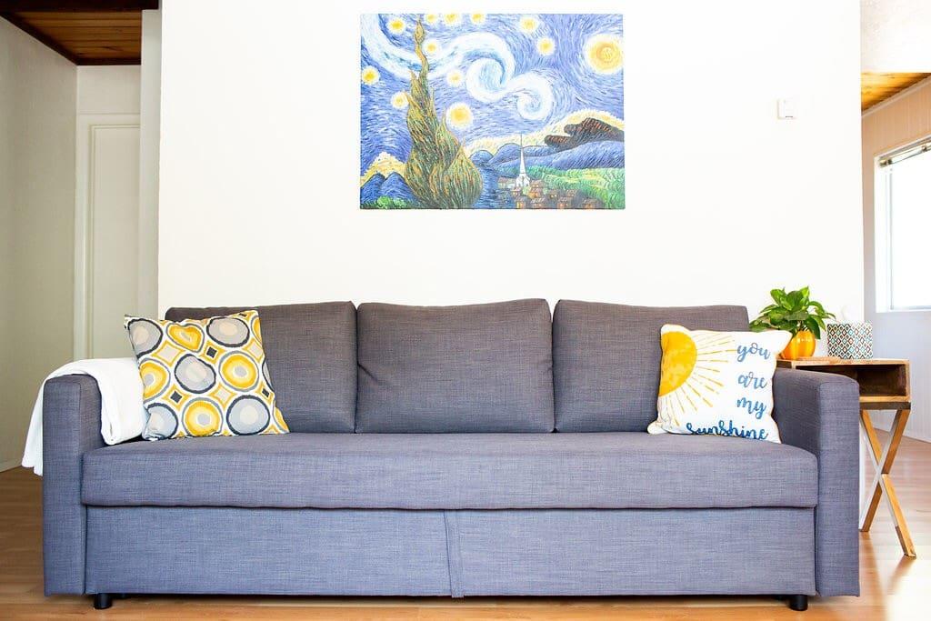 Living Room, sofa sleeper fits (2)