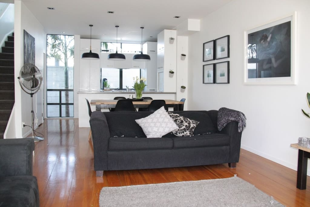 Light and spacious living area