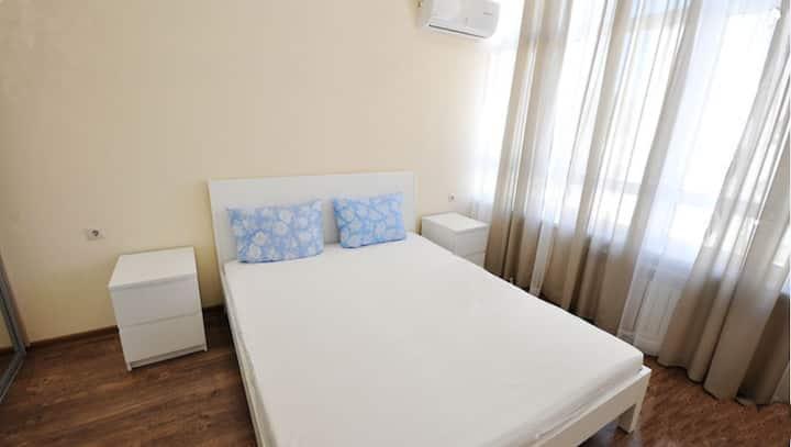 Комфортная 2-х комнатная квартира в Геленджике