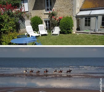 Nice house with garden near the sea - Bernières-sur-Mer - Ev