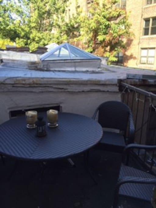 Prive Outdoor Patio Deck!