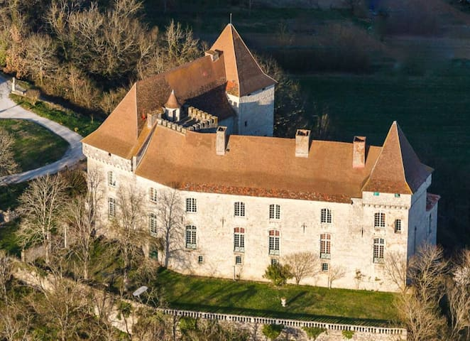 Chateau of Goudourville, Southwest of France