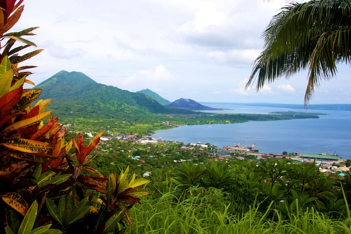View of Rabaul