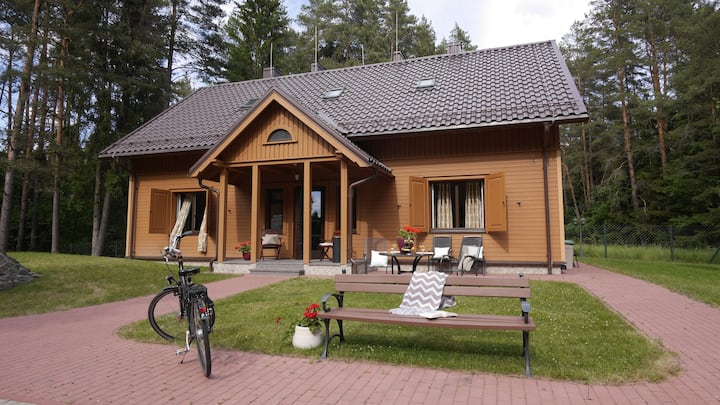 Villa VIENYBĖ room