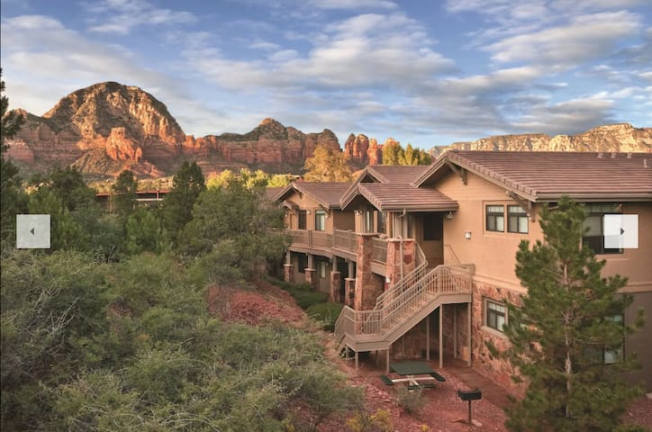 Sedona Resort with Picturesque Mountain View