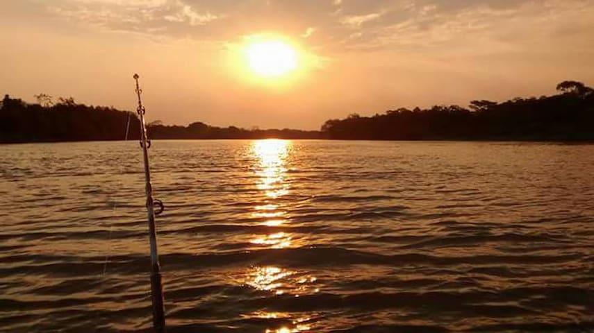 Pescaria no Pantanal - Barão de Melgaço - Casa