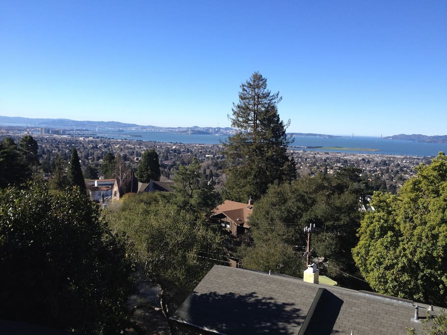 Berkeley hills golden gate view apt appartements louer berkeley californie tats unis - Maison hillside gipsy a berkeley en californie ...