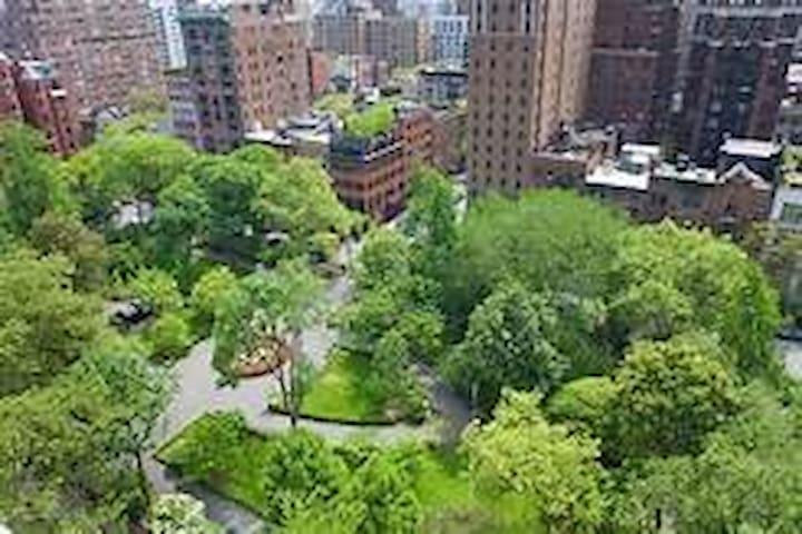Gramercy Park. Private, on the park
