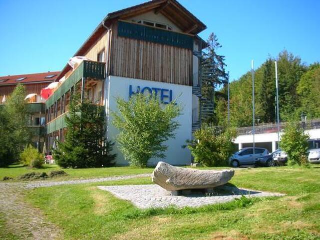 Hotel-Appartement Nr. 301 = eine Ferienwohnung für 2 Personen in Privatbesitz im Hotel.