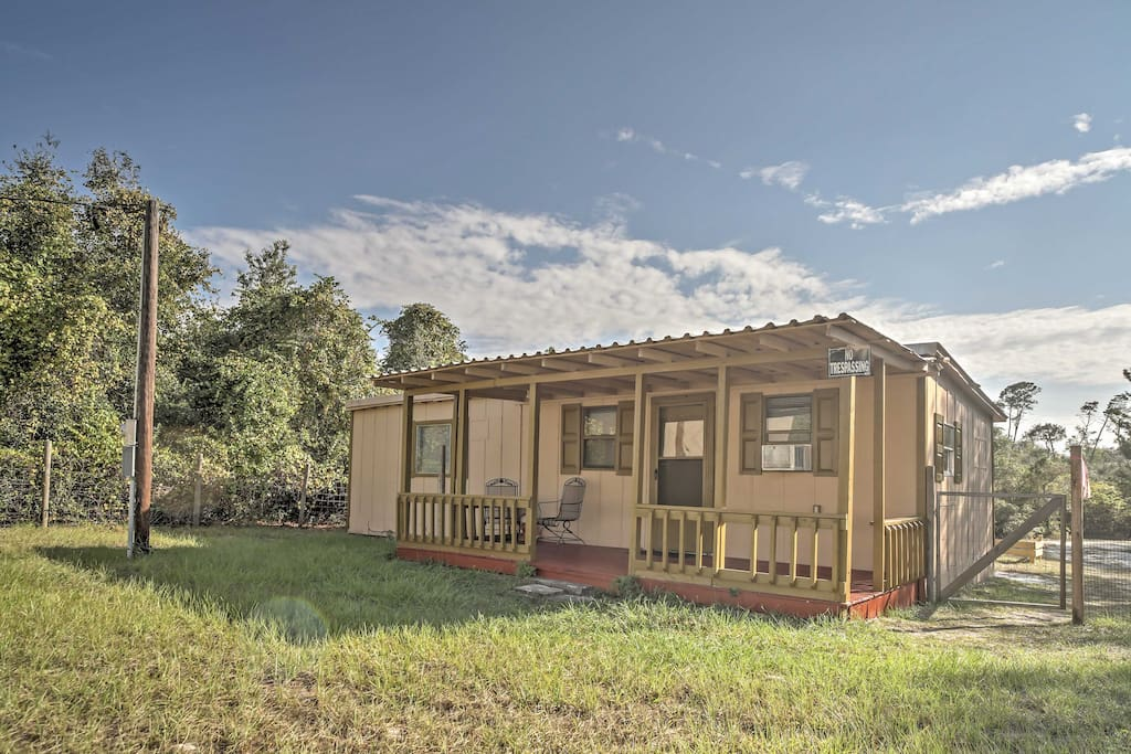 1br umatilla cabin in ocala national forest cabins for