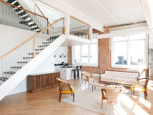 Greater Downtown Loft: Model J - Detroit - Loft-asunto