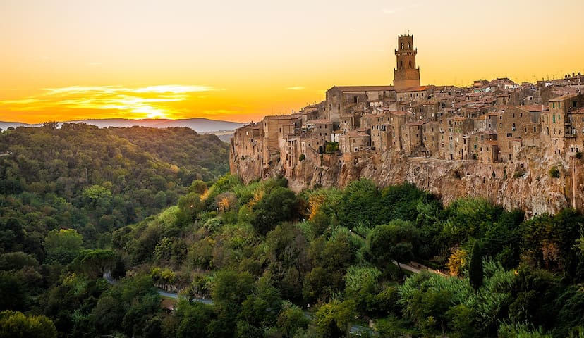 Rent a Country House in Maremma - Pitigliano - House