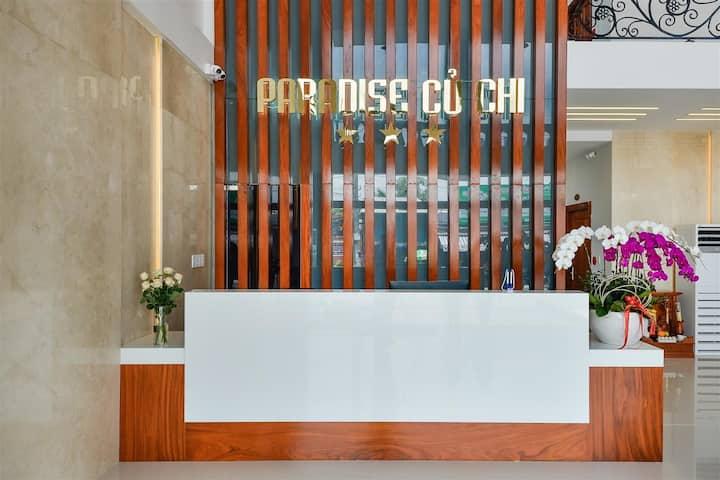 Paradise Hotel Cu chi phòng sạch chuẩn 3 sao
