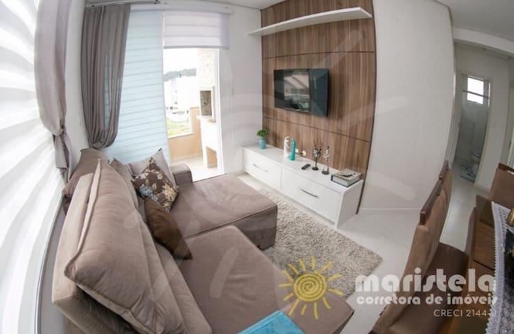 Apartamento lindo a 500 metros da praia de Palmas