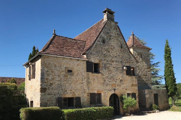 Manoir du XVème, Périgord Quercy