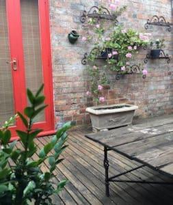Large bedroom, own bath,walk-in robe,sunny deck - Carlton