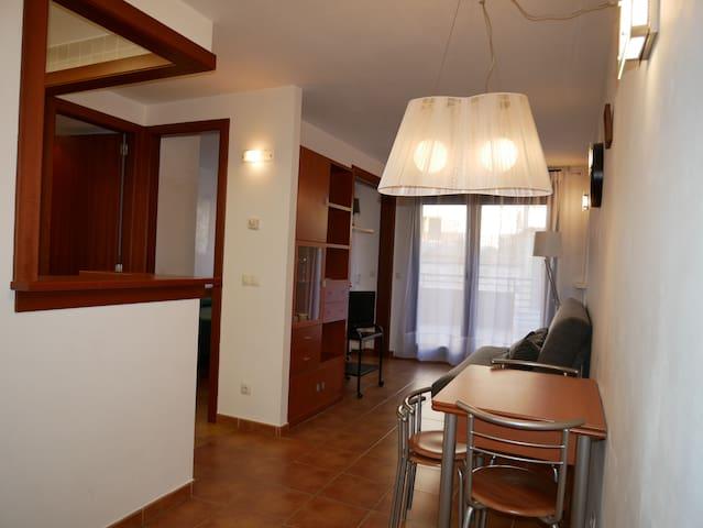 Nice 1 bedroom apt with terrace .2/4 pers hut 5332