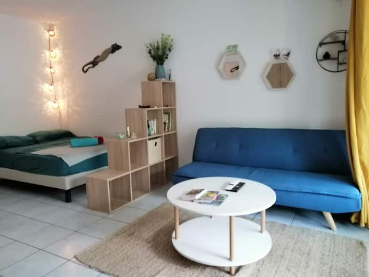 Nice & cosy appartment with terrace & garden space