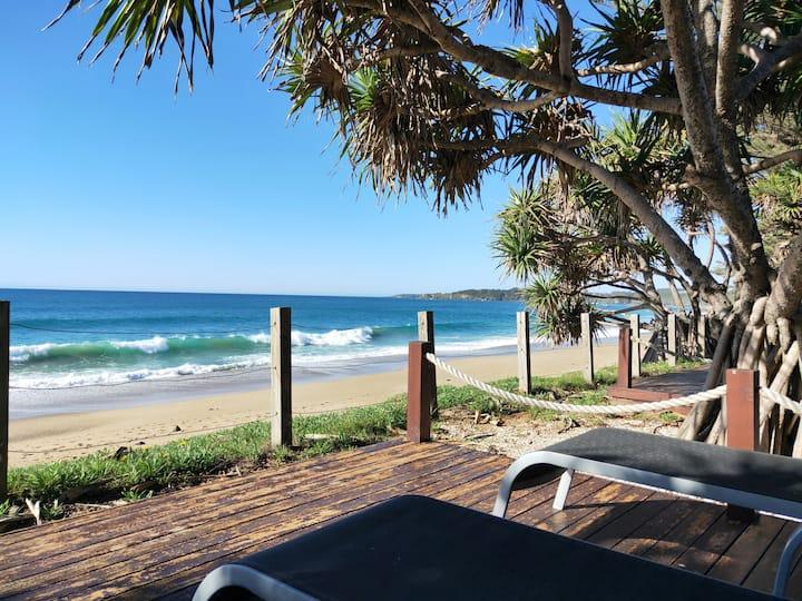 Beach lifestyle relaxing at Nautilus Resort
