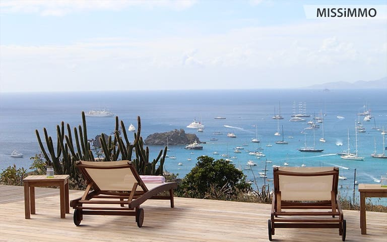 1 bedroom Villa with 180° view - Gustavia - Villa
