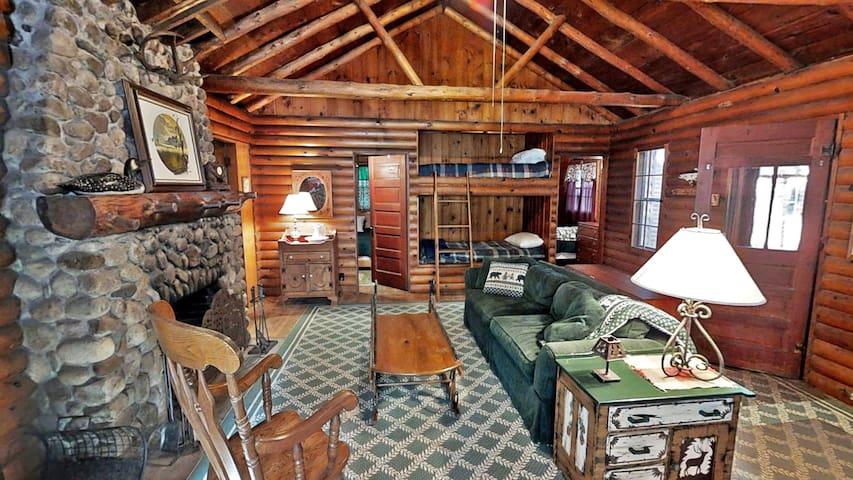 Minnestay** Big Trout Rustic Cabin - Crosslake