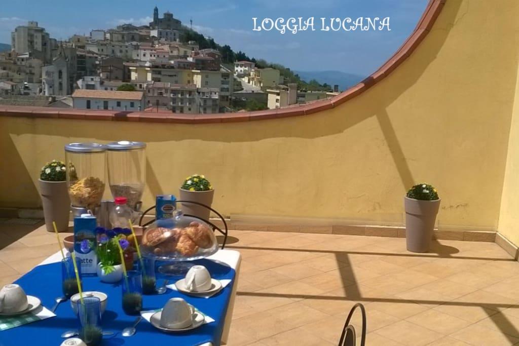 "Terrazza Panoramica ""Loggia Lucana"""