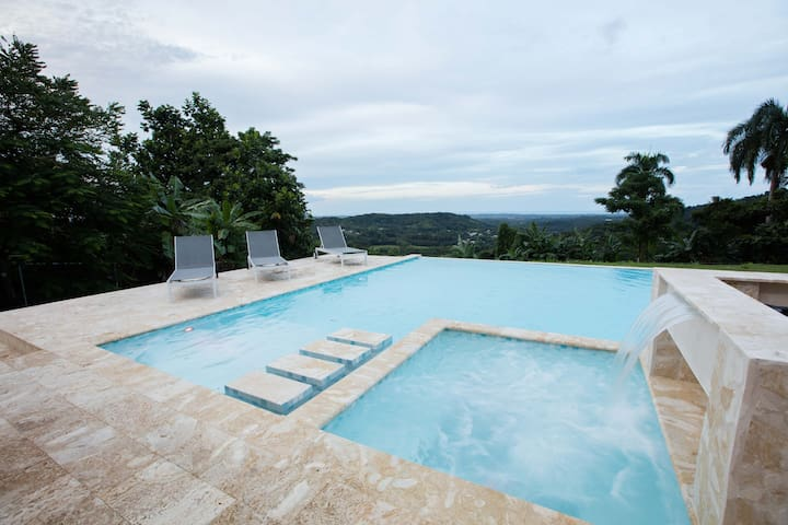 El Yunque Mountains and Panoramic views Villa! - Río Grande - 獨棟
