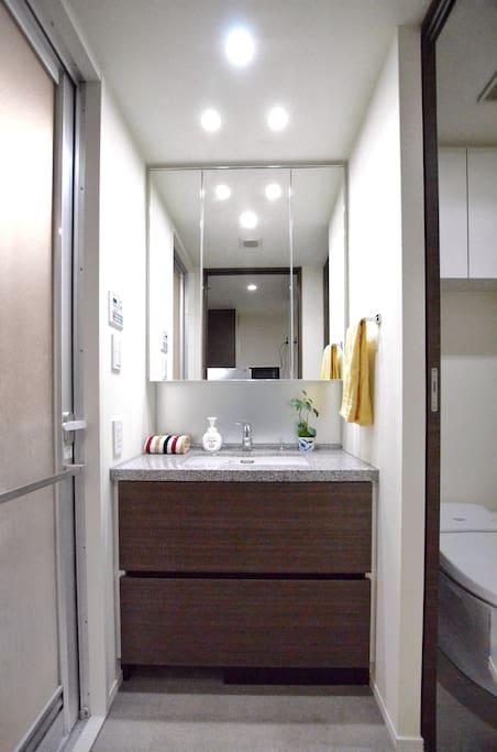 Powder area/ separate toilet and bathroom 化妆/梳洗 / 分隔厕所与浴室