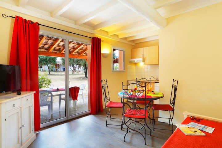 Joli Maisonette 4p, terrasse et cuisine privée